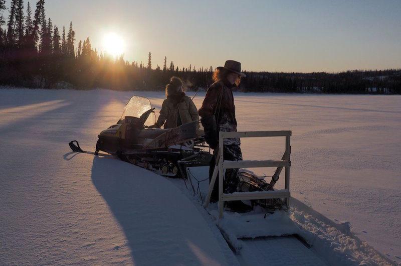 Vivere in Alaska isolati